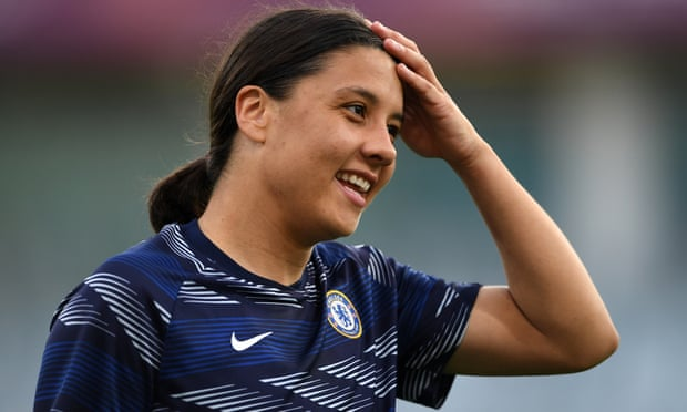 'I never played midfield in me life': Sam Kerr's shock at WSL selection